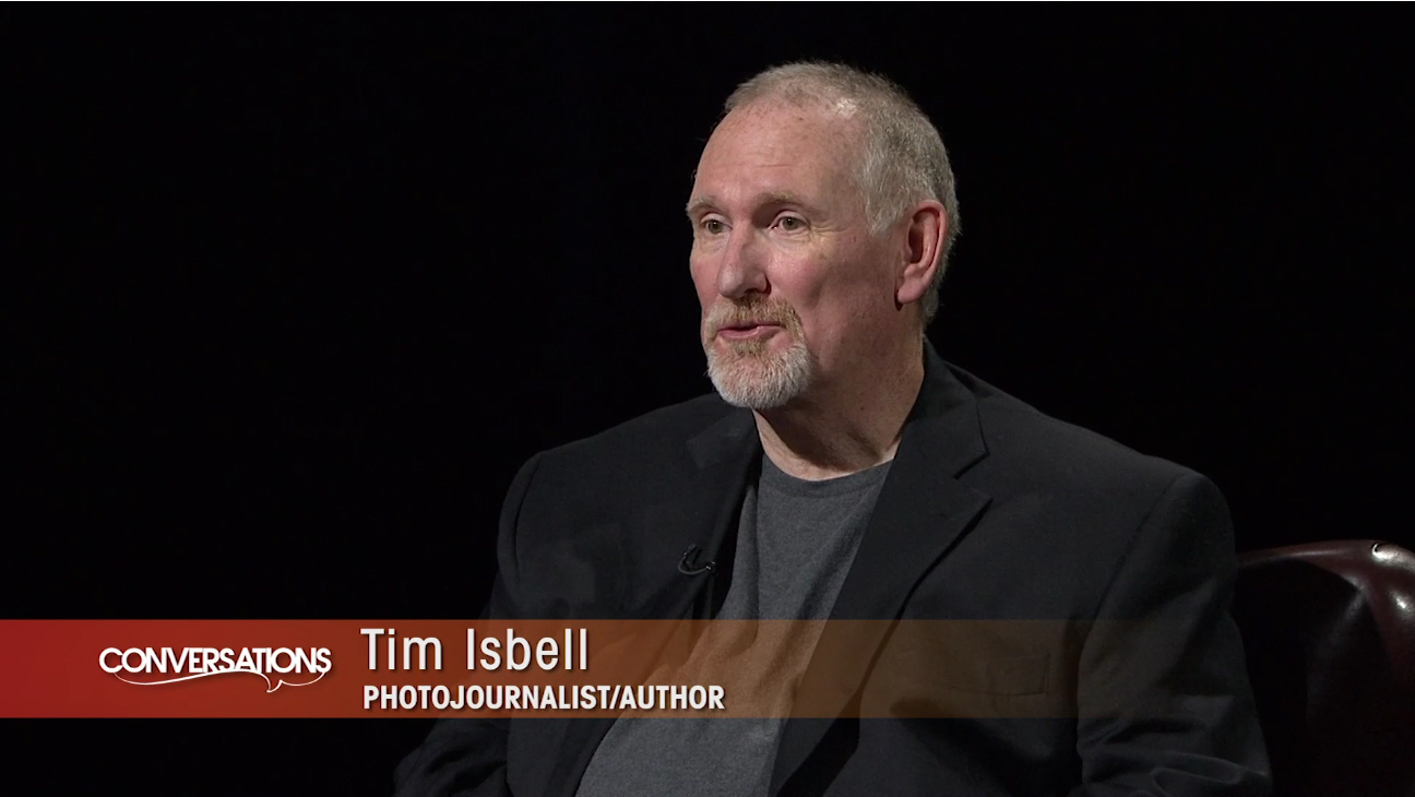 Tim Isbell discusses his newest book with Conversations Host Marshall Ramsey.